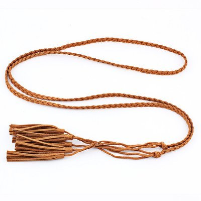 3-layer tassels belt tie