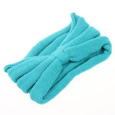 Knot super wide crochet headband