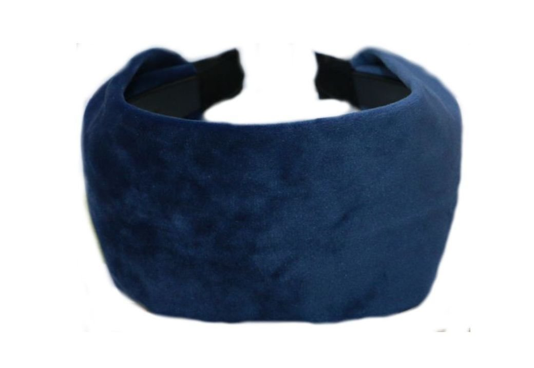 8cm wide velvet fabric headband