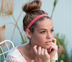Knotted elastic headbands (5 pack)