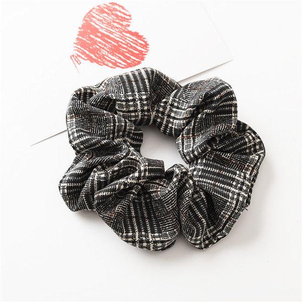 Premium mixed plaids scrunchies
