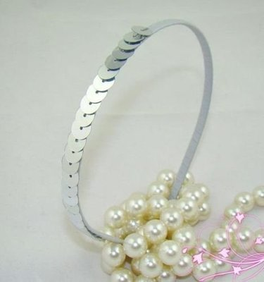 Shiny sequins headband