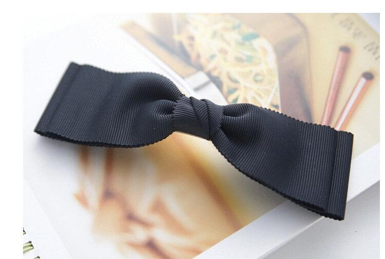 Ribbon bowknot hair clip