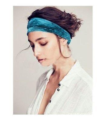 Tie-dye soft bandanna headbands