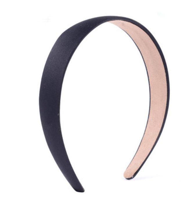 2.8cm-wide matte satin headband