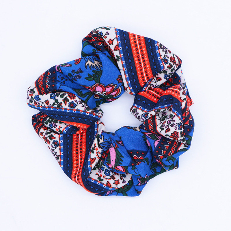 Ethnic style scrunchies