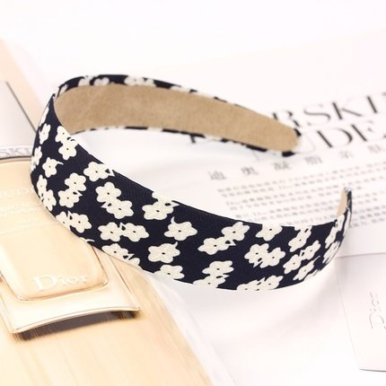 Floral chiffon headband