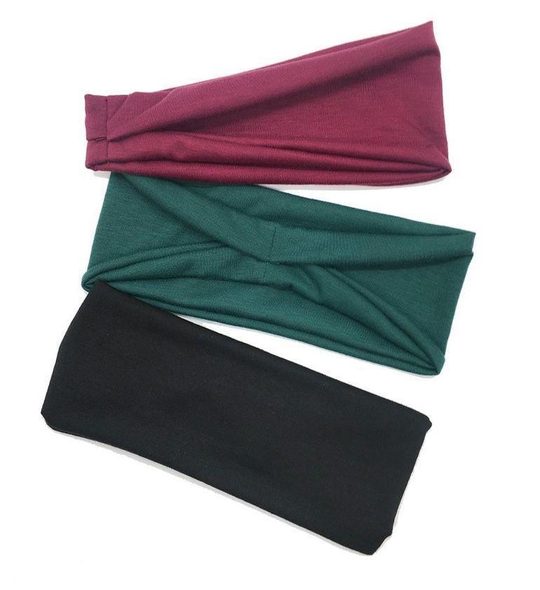 Sporty bandanna headband