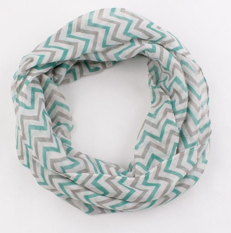 Beautiful waves infinity scarf