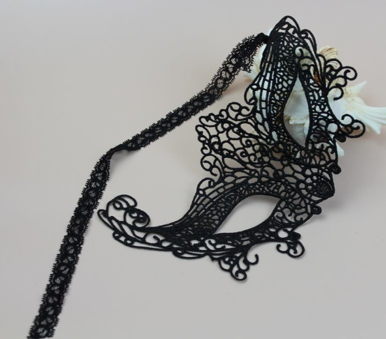 Lace party mask #3