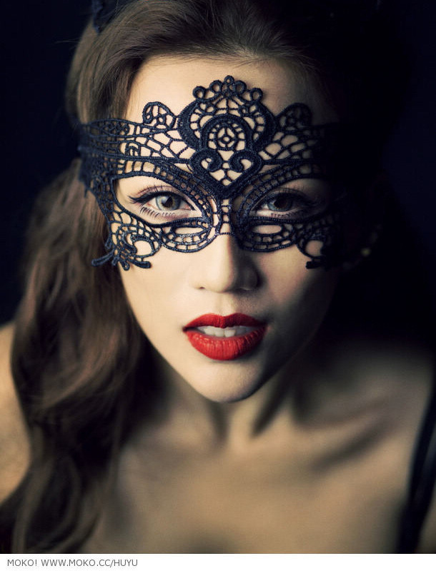 Lace eye mask #1