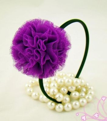 Pom-pom party crasher headband