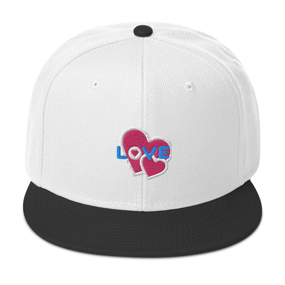 Love with hearts · Snapback Hat