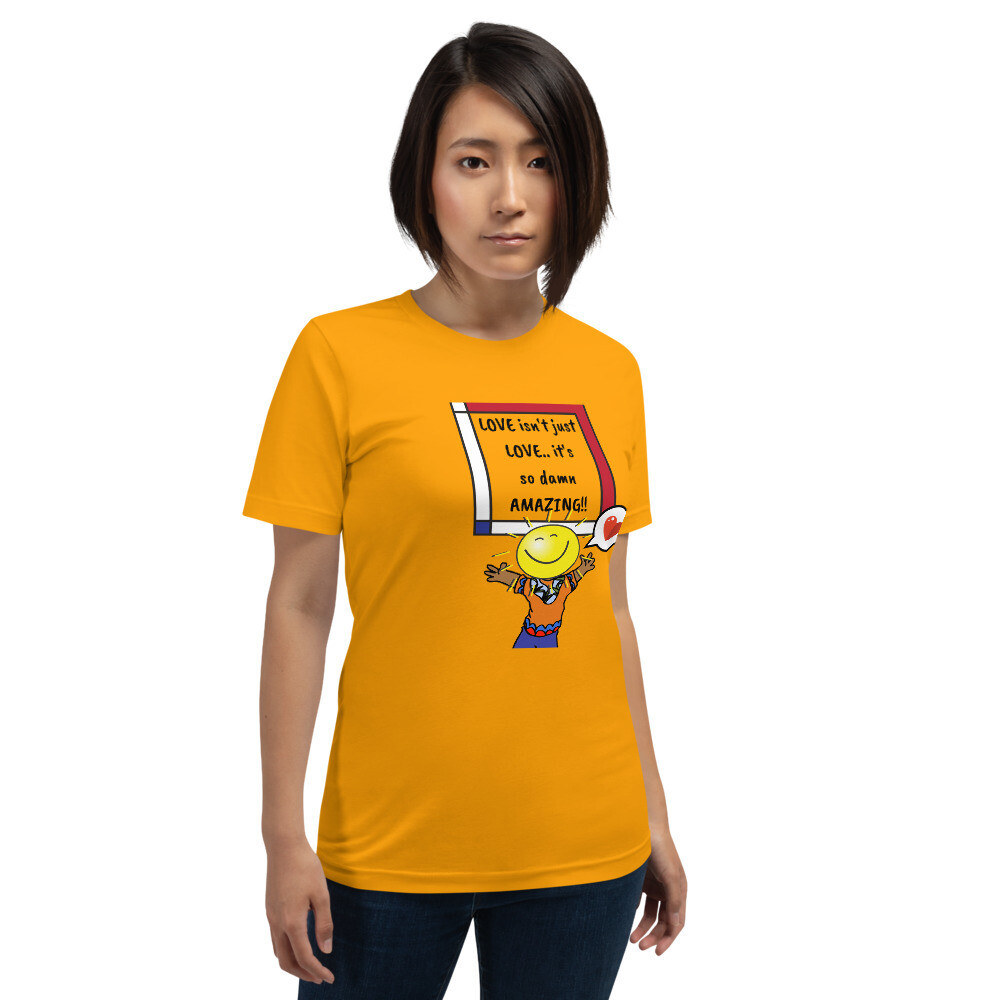 "Gender Fluid · ""Love isn't just love,"" T-Shirt"