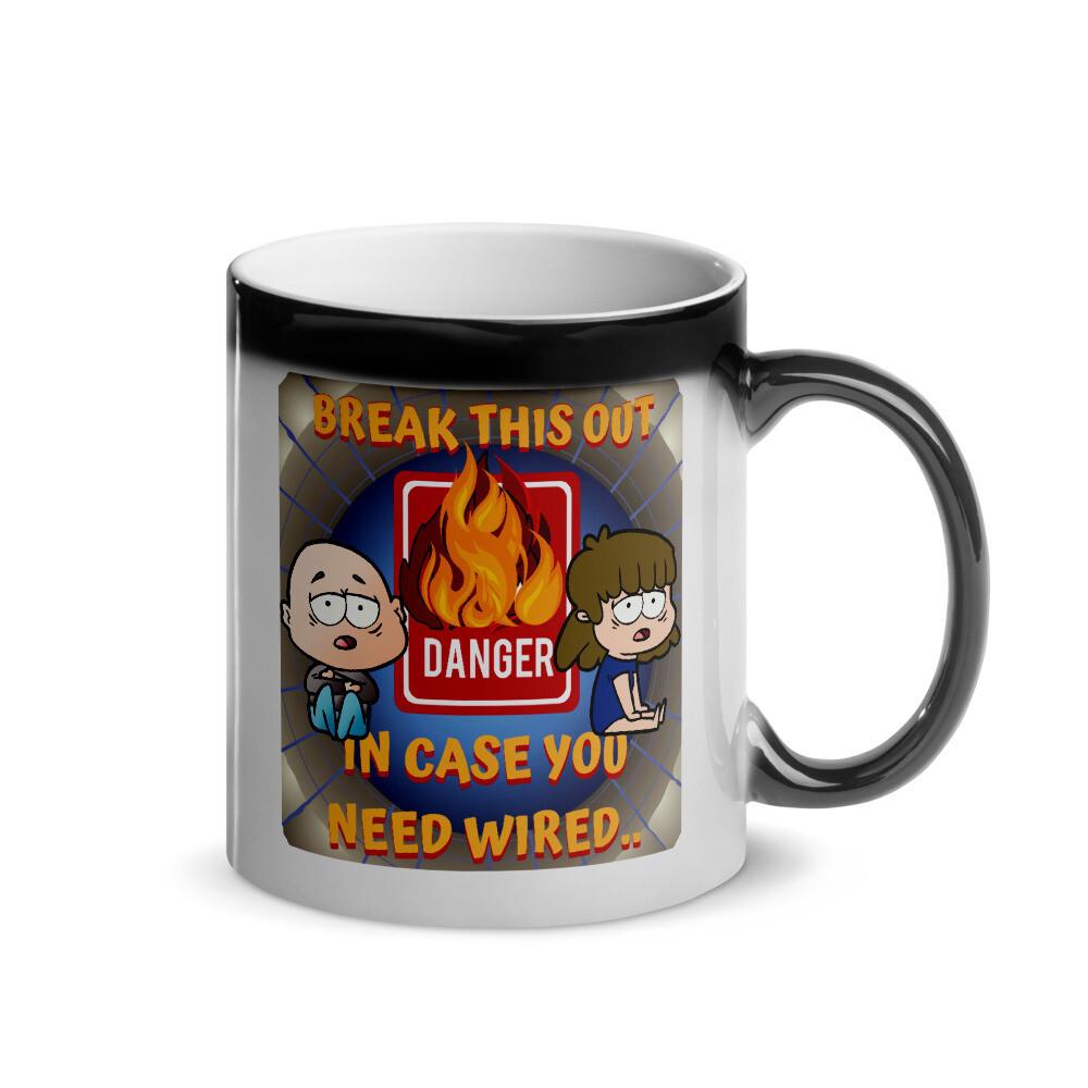"""Break this out,"" Wild Magic Mug.."