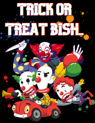 """""""Trick or treat,"""" t-Shirt"""
