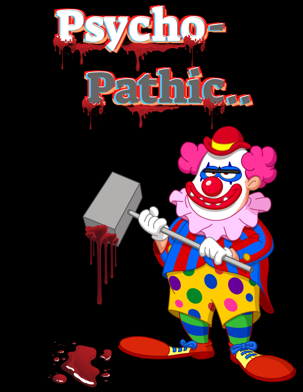 """Psycho-Pathic,"" Halloween Hoodie.."