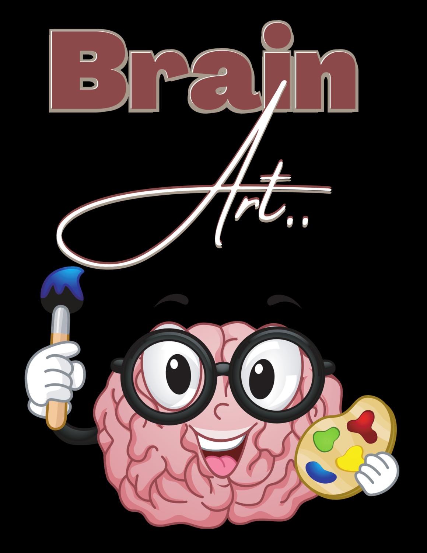 """Brain Art,"" Megalithic T-Shirt.."