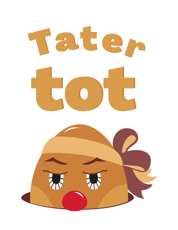 "Toddler, ""Tater Tot,"" Tee.."