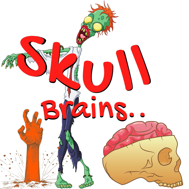 "Wild, ""Skull brains,"" t-shirt.."