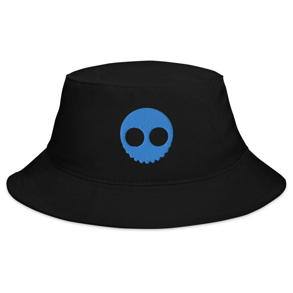 """""""Skull brains 2,"""" Alien wear Bucket Hat.."""