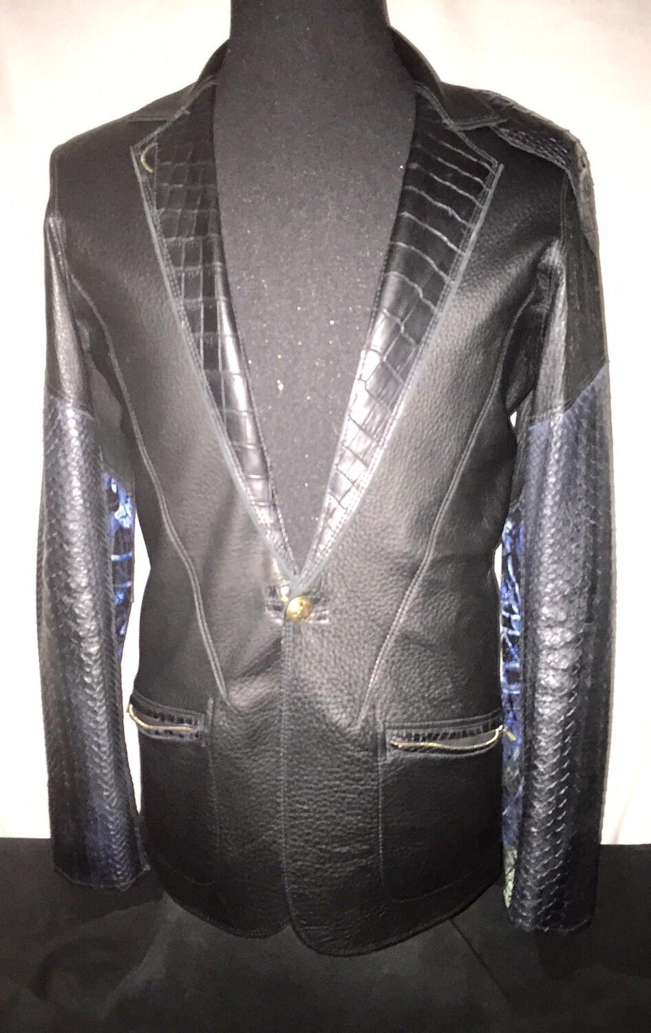 REVERSIBLE  LEATHER TUX *2