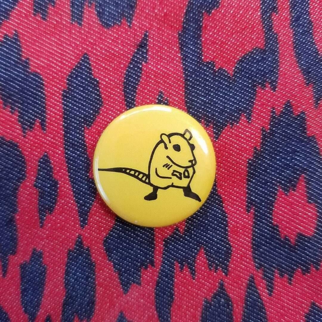 Rat Small Pin