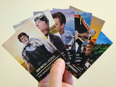 Trading Cards: All 3 Sets: Pirates, Knights, and King's, OH MY!