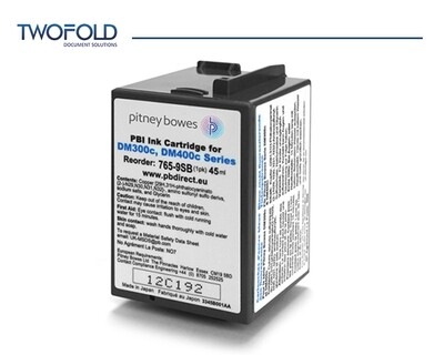 Pitney Bowes DM300 to DM475 Blue Ink