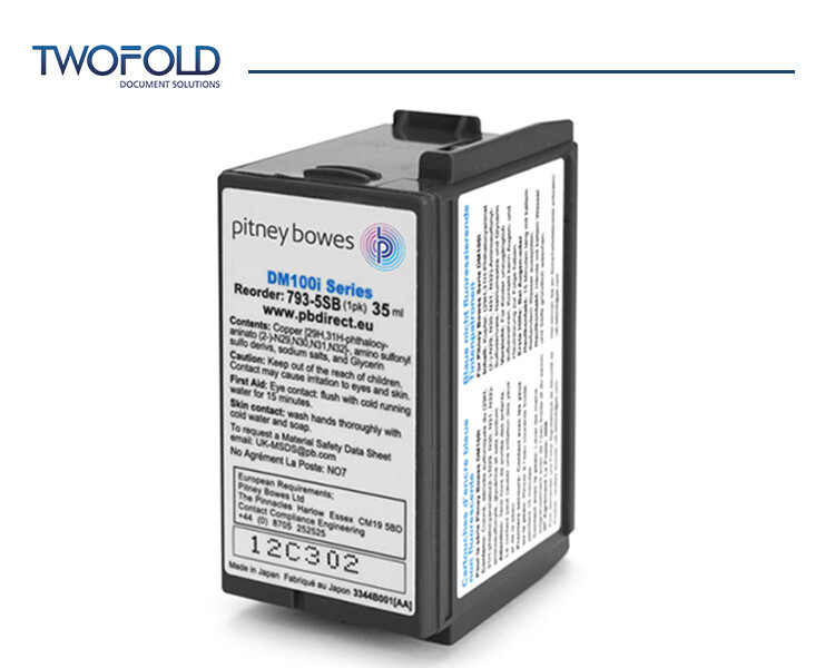 Pitney Bowes DM100 to DM220 and SendPro Blue Ink
