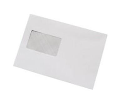 C5 White Window Machine Envelope (1000)