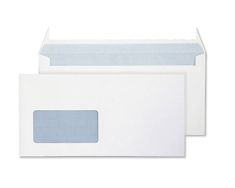 DL White window Envelopes 90gsm (1000)