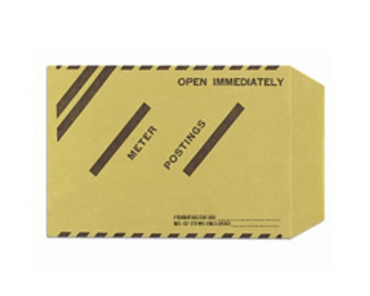 Twofold Meter/Late Posting Envelopes (50/Pack)