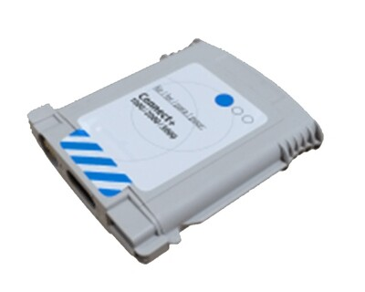 Pitney Bowes Connect+/SendPro compatible Cyan Ink Part CPB041