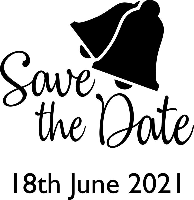 Save the Date Design with date under