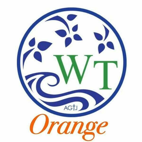 Water Tree Orange