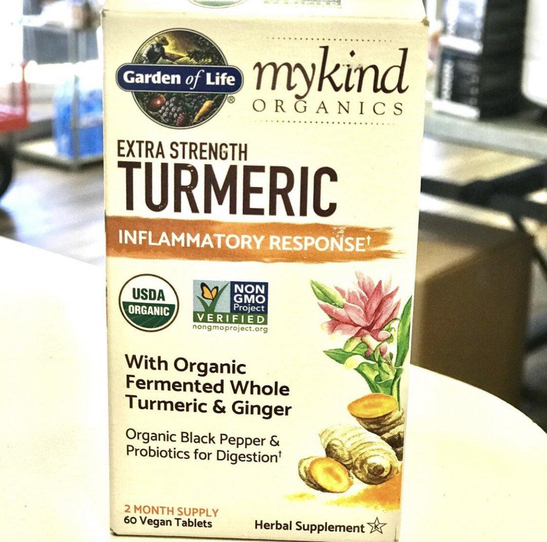 myKind Extra Strength Turmeric - 60 tabs