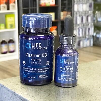 Vitamin D3 - 5000 IU 60ct