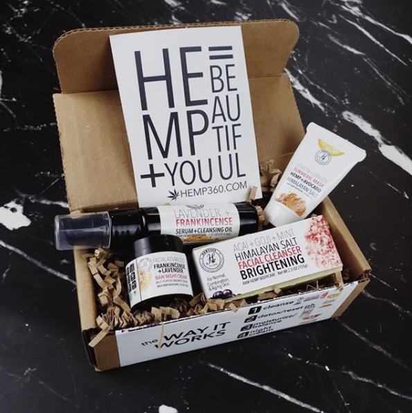 Hemp360 Brightening Face Kit