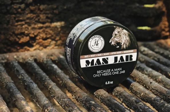 Hemp360 Man Jar