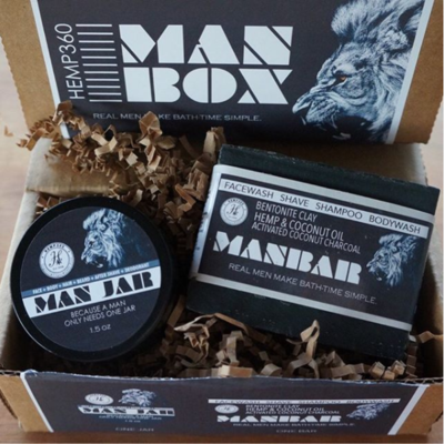 Hemp360 Man Box