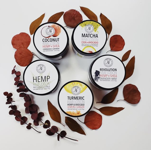 Hemp360 Raw Lotions
