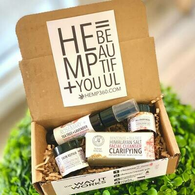 Hemp360 Clarifying Face Kit