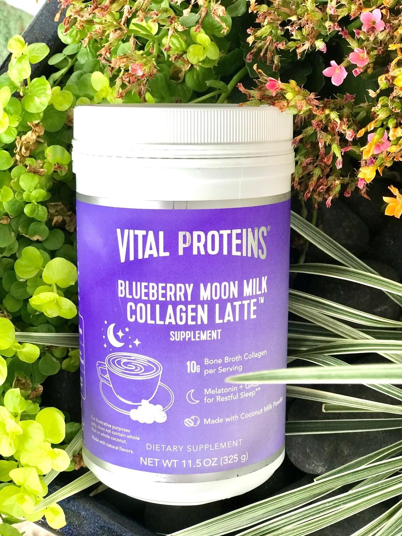 Blueberry Moon Milk Collagen Latte