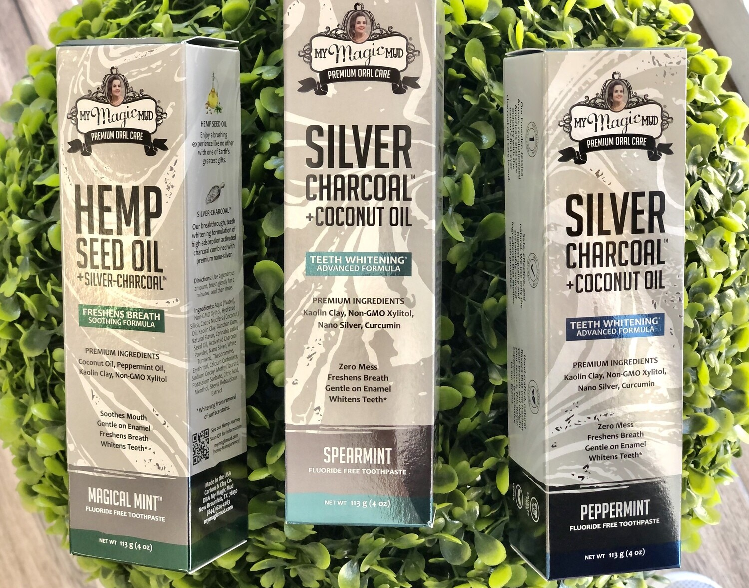 Magic Mud Silver Charcoal Toothpaste