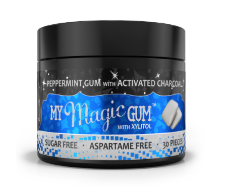 Magic Mud Gum w/ Xylitol – Peppermint