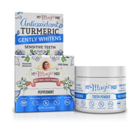 Magic Mud Turmeric Polishing Tooth Powder