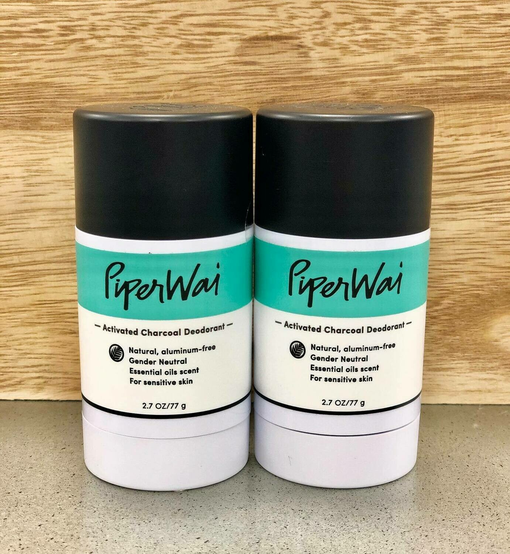 Piper Wai Natural Charcoal Deodorant
