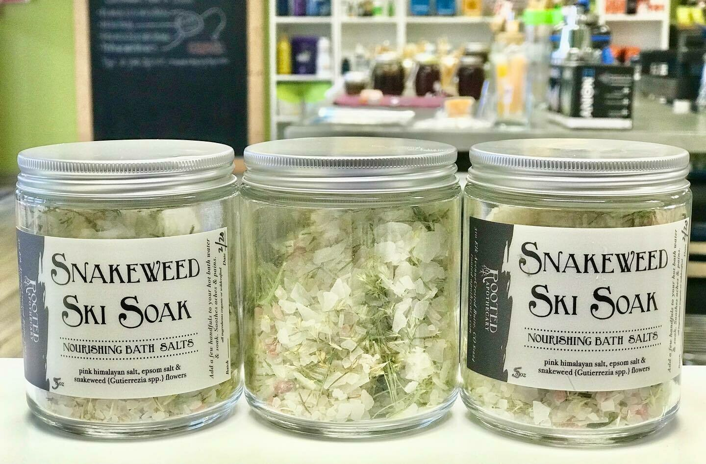 Rooted Apothecary Snakeweed Ski Soak