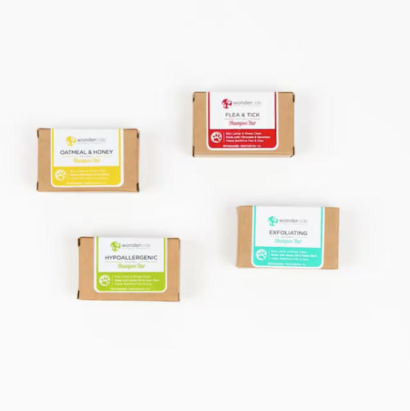 Wondercide Shampoo Bars